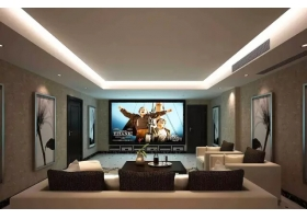 How to make a living room cinema at home