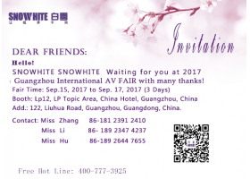 Invitation of Guangzhou International AV FAIR