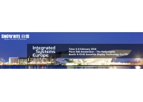 Advance Notice For Integrated Systems Europe