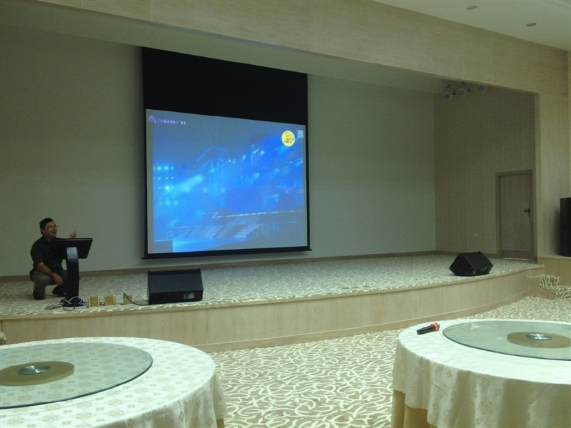 Snowhtie Projection Screens in Gold City, Shenzhe