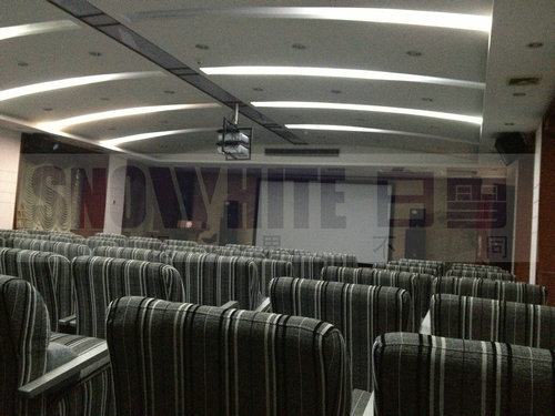 Snowhite Screen in the Multifunctional Hall of Shenzhen Party School of the CPC Central Committee,She
