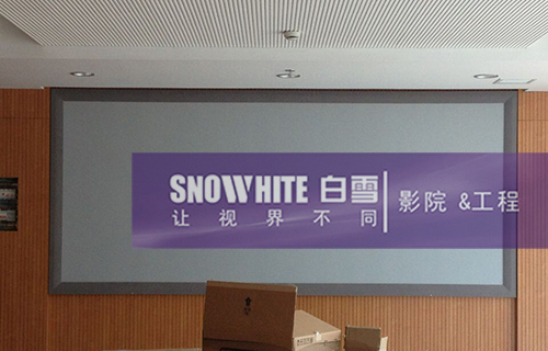 Snowhite Frame Screen in Jiangsu province traffic planning and design institute