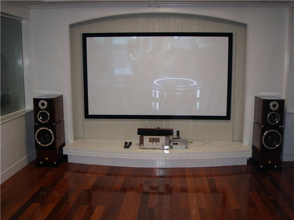 Snowhite Fine Fixed Frame Projection Screen