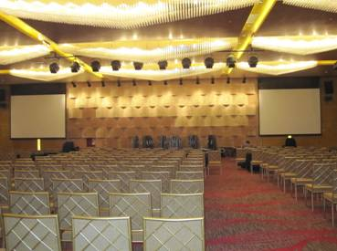 Snowhite Screen in the Banquet Hall of Hotel in Jiangsu, China