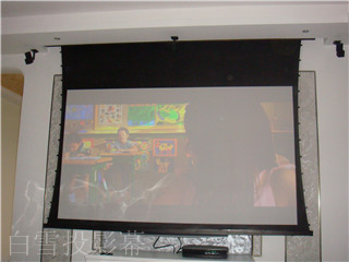 Snowhite Home Cinema Projection Screen